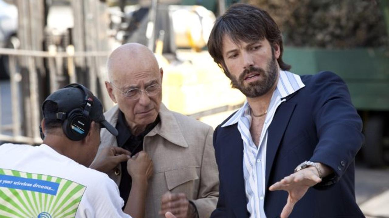Ben Affleck and Alan Arkin appear in a scene from the 2012 film Argo.