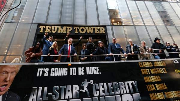 NBCs All Star Celebrity Apprentice - Trace Adkins, Dennis Rodman, Gary Busey, Lil Jon, Claudia Jordan, Dee Snider, Lisa Rinna, Donald Trump (host), Bret Michaels, Marilu Henner, Brande Roderick, Stephen Baldwin and Penn Jillette. - Provided courtesy of NBC Photo / Heidi Gutman