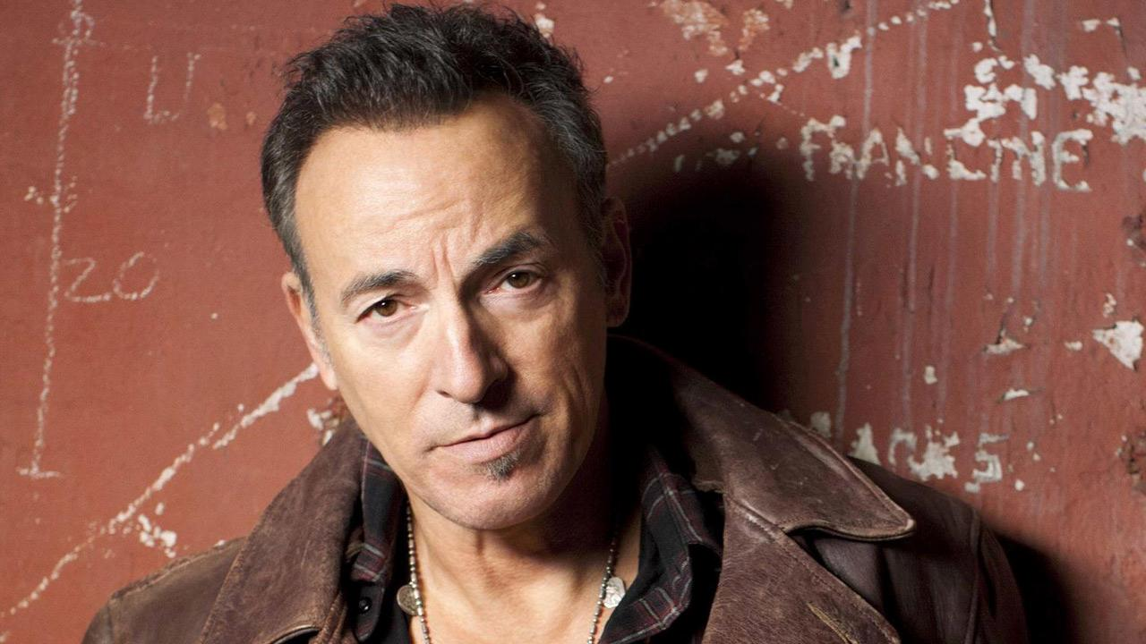 Bruce Springsteen appears in a photo posted on his official Facebook page on January 19, 2012.