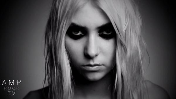 Taylor Momsen appears in a still from The Pretty Reckless video, Under The Water. - Provided courtesy of Amp Rock TV