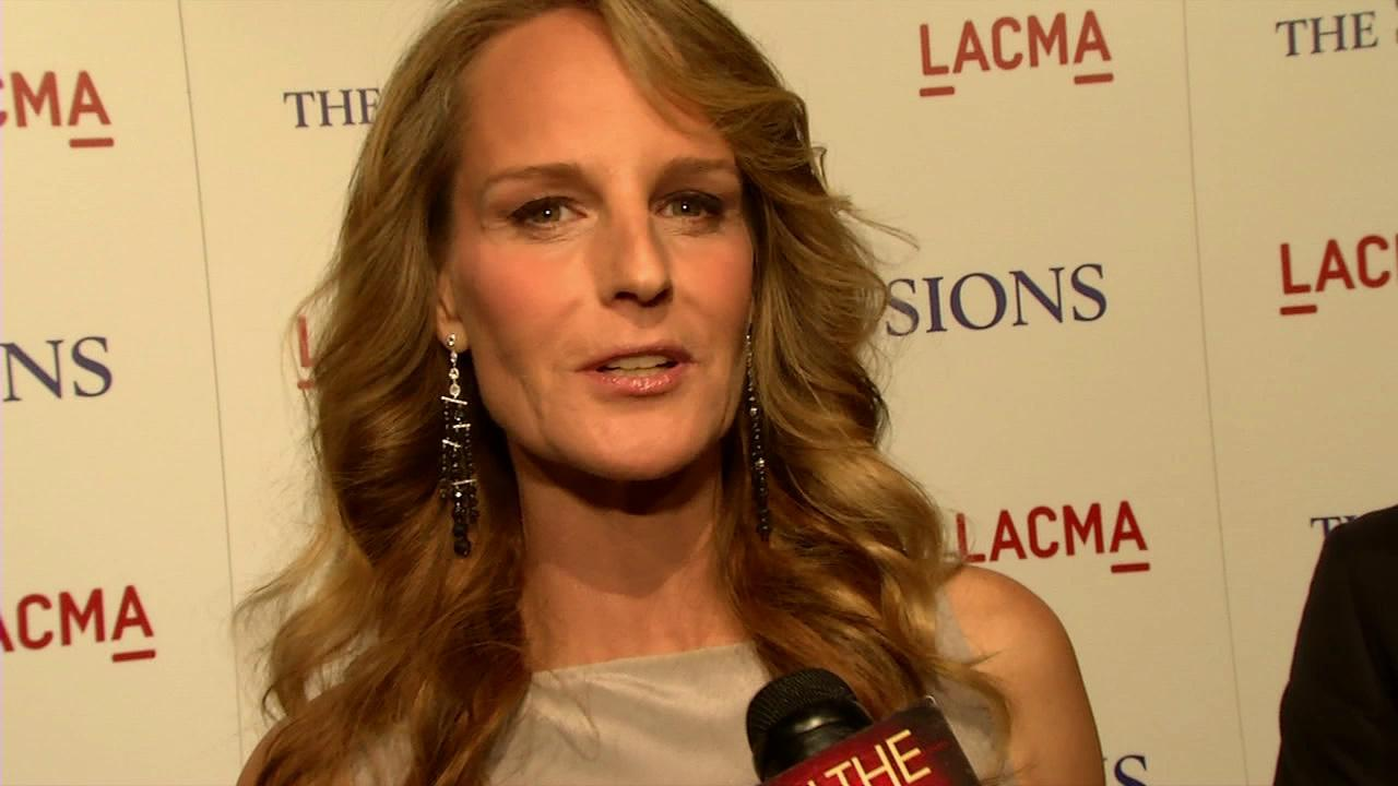 Helen Hunt talks to OTRC.com at the premiere of her 2012 drama film The Sessions on Oct. 10, 2012.