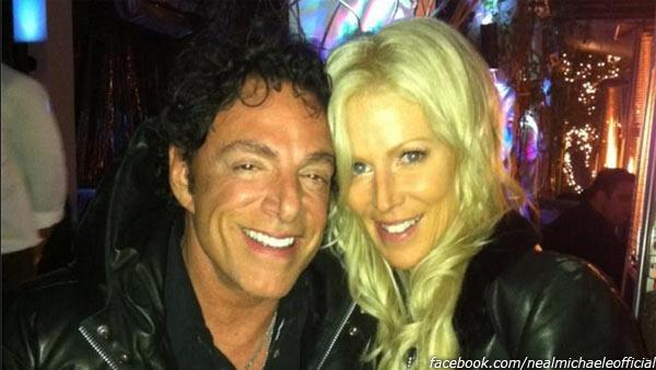 Neal Schon and Michaele Salahi appear in a photo posted on their shared Facebook page on Sept. 30, 2012.
