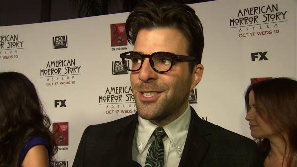 Zachary Quinto  talks 'American Horror Story' season 2