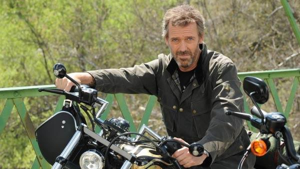 Hugh Laurie appears as Dr. Gregory House on the series finale of the FOX series 'House,' which aired on May 21, 2012.