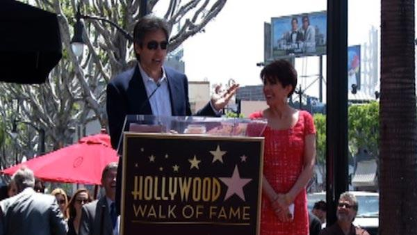 Ray Romano speaks at his former 'Everybody Loves Raymond' co-star Patricia Heaton's star ceremony on the Hollwood Walk of Fame on May 22, 2012.