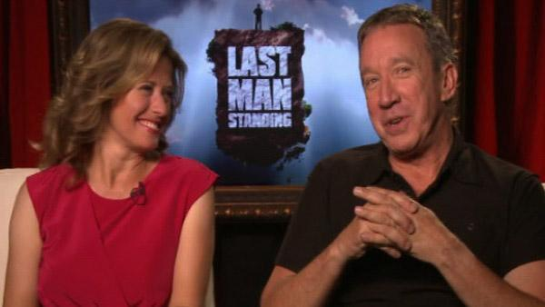 Tim Allen and Nancy Travis talk to OnTheRedCarpet.com about their new ABC comedy series, 'Last Man Standing.'