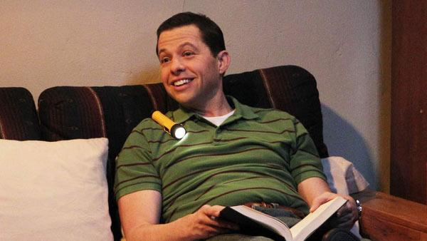 Jon Cryer appears in an undated photo from 'Two and a Half Men.'