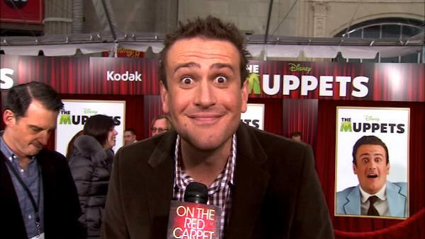 Jason Segel talks to OnTheRedCarpet.com at the Hollywood premiere of 'The Muppets' in November 2011.