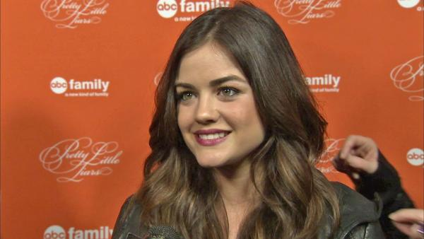 Lucy Hale of Pretty Little Liars talks to OTRC.com on October 16. 2012. - Provided courtesy of OTRC