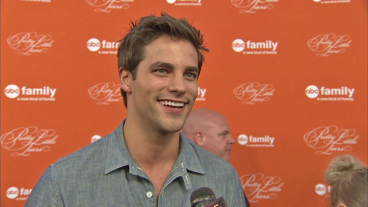 Brant Daugherty of Pretty Little Liars talks to OTRC.com on October 16. 2012.