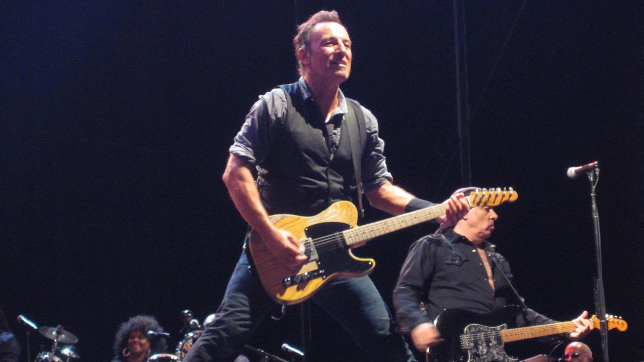 Bruce Springsteen performs at the Magnetic Hill Music Festival in Moncton, New Brunswick in Canada on Aug. 26, 2012.flickr.com/photos/melodramababs/