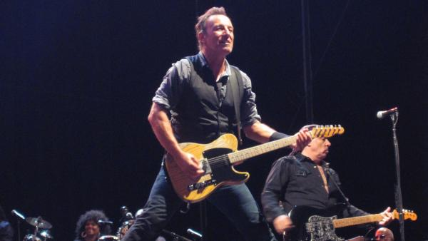 Bruce Springsteen performs at the Magnetic Hill Music Festival in Moncton, New Brunswick in Canada on Aug. 26, 2012.