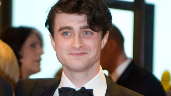 Actor Daniel Radcliffe arrives at the White House Correspondents Association Dinner on Saturday, April 28, 2012 in Washington. - Provided courtesy of AP / Kevin Wolf
