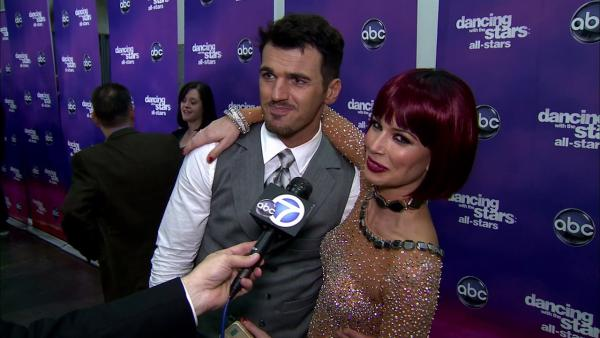 OTRC: Melissa Rycroft, Tony Dovolani talk 'DWTS' injury