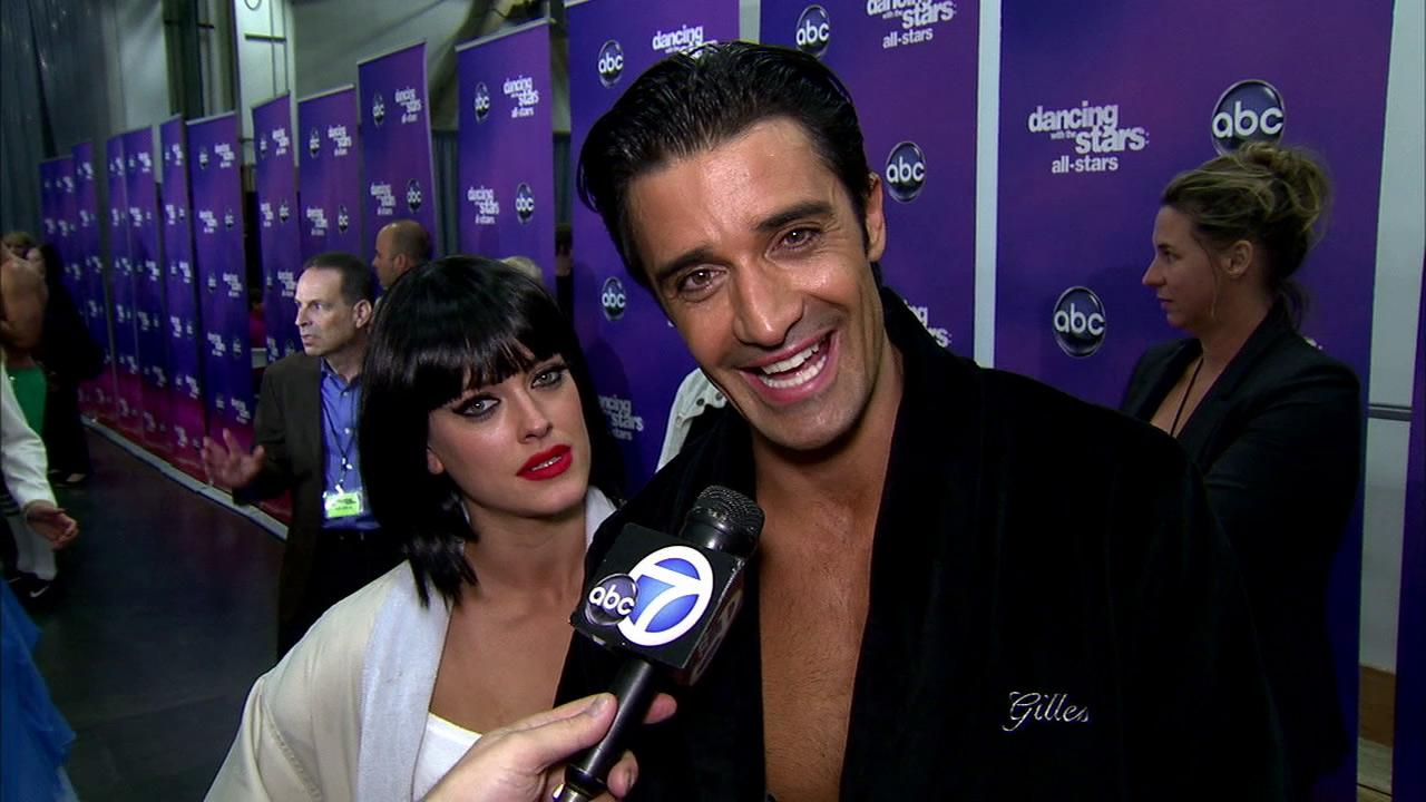 Gilles Marini and Peta Murgatroyd talk to OTRC.com after the October 22, 2012 episode of Dancing With The Stars.