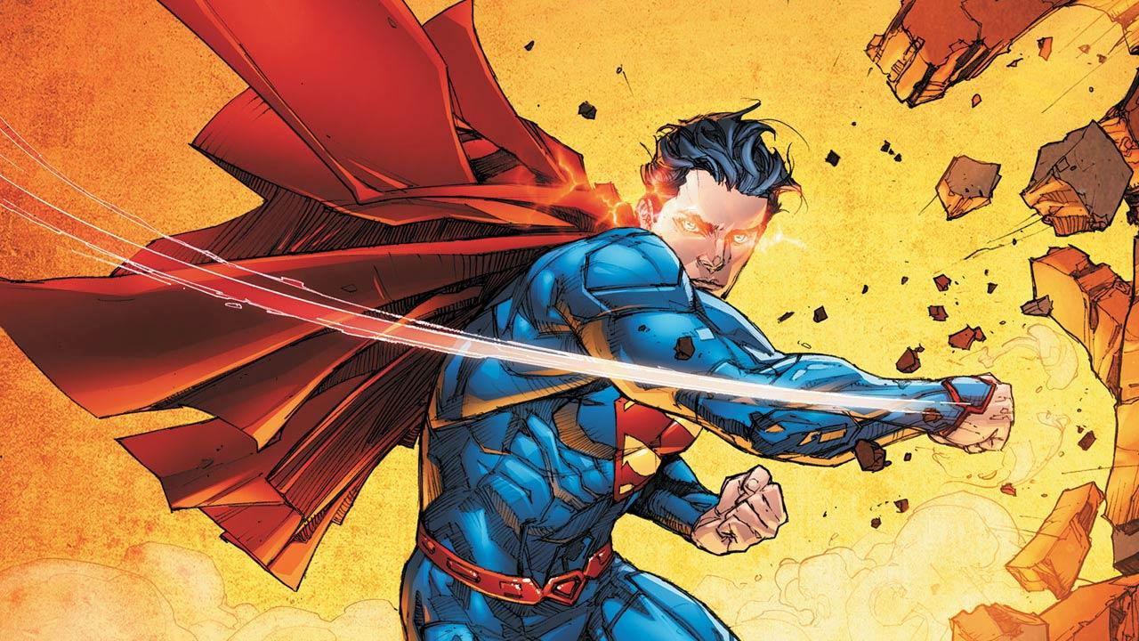 An image of Superman issue 13, by writer Scott Lobdell and artist Kenneth Rocafort.