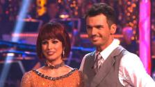 Melissa Rycroft and Tony Dovolani appear in a still from Dancing With The Stars: All-Stars on October 23, 2012. - Provided courtesy of ABC