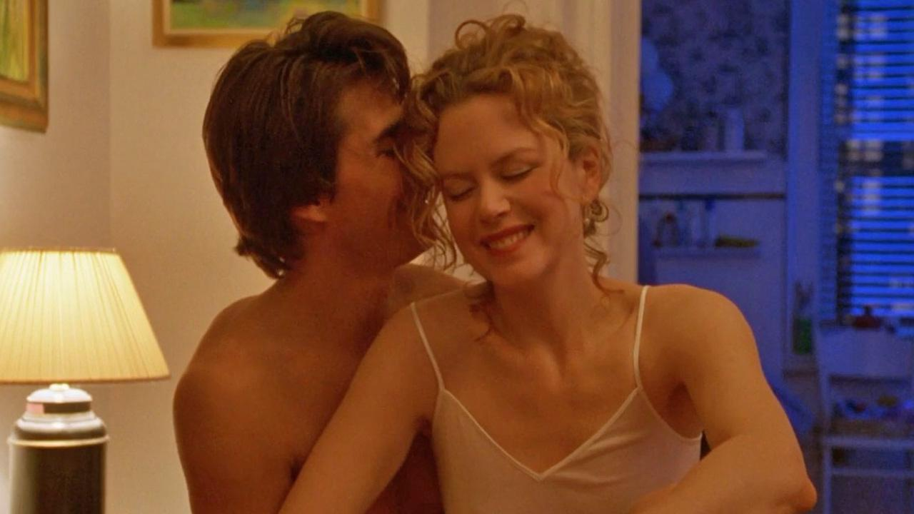 Nicole Kidman and Tom Cruise appear in a still from the 1999 film, Eyes Wide Shut.