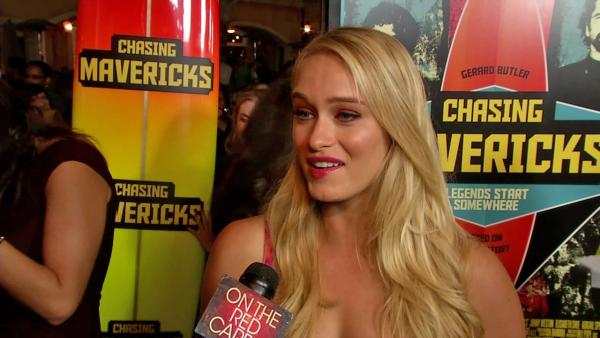 Leven Rambin talks 'Chasing Mavericks' character