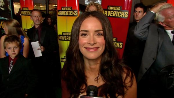 Abigail Spencer talks 'Chasing Mavericks'