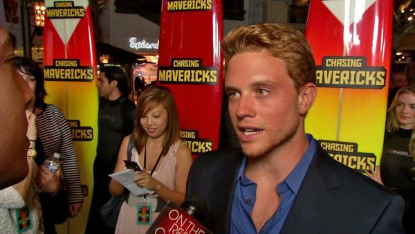 Jonny Weston talks 'Chasing Mavericks,' Gerard Butler