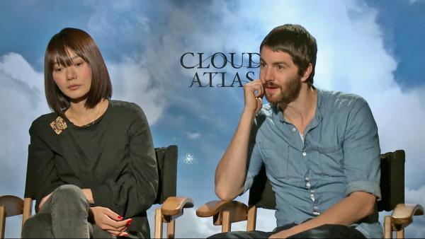 Jim Sturgess and Doona Bae talk 'Cloud Atlas'