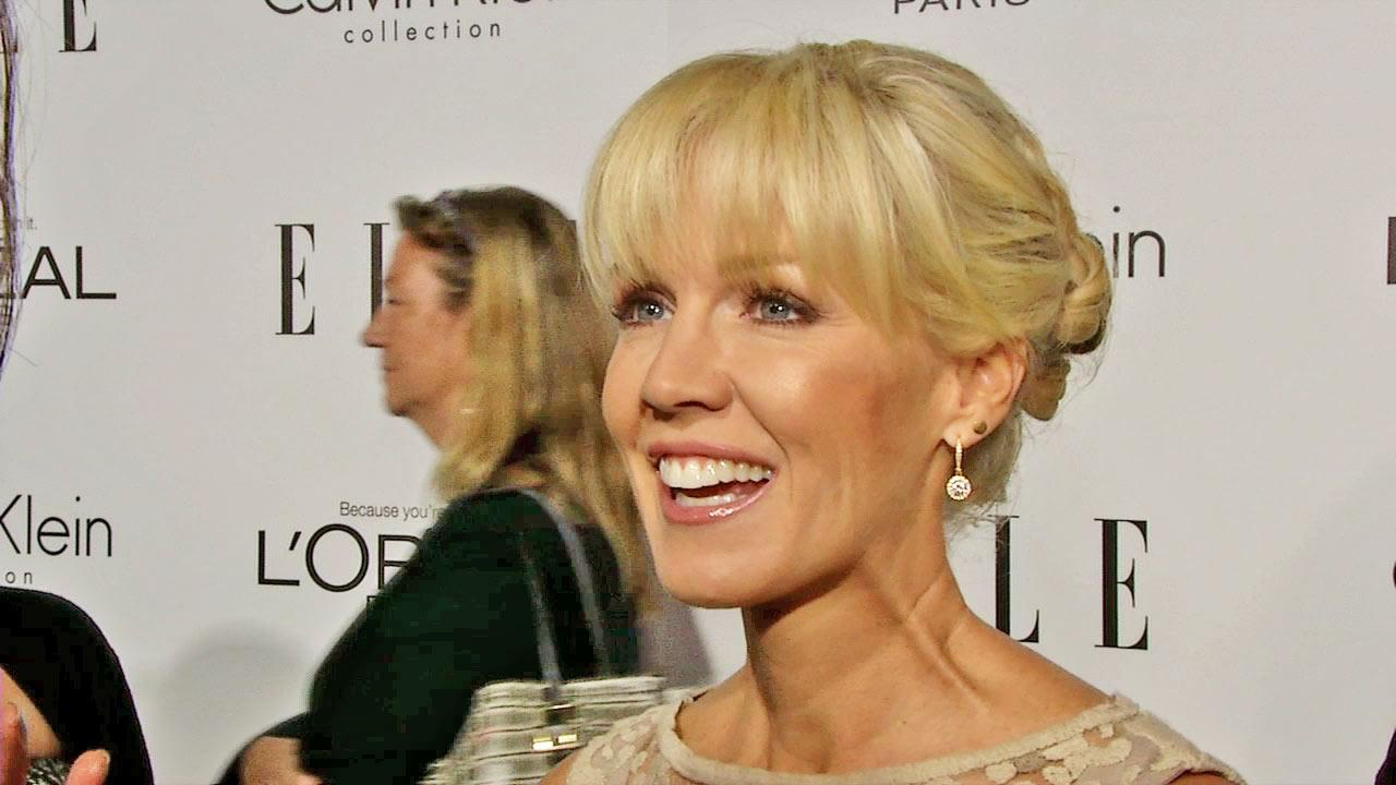 Jennie Garth talks to OTRC.com at the Women In Hollywood event in Los Angeles on October 15, 2012.