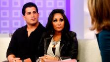 Pictured: (l-r) Jionni Lavalle, Nicole Snooki Polizzi and Savannah Guthrie appear on NBC NewsToday show on October 24, 2012. - Provided courtesy of Peter Kramer/NBC
