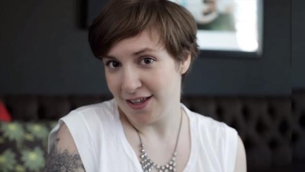 Lena Dunham appears in a still from her Barack Obama endorsement ad, My First Time. - Provided courtesy of BarackObama.com / YouTube