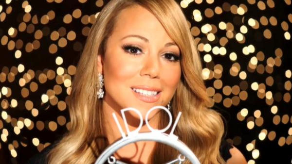 Mariah Carey appears in a 2012 promotional ad for American Idol which aired on October 27, 2012. - Provided courtesy of  FOX