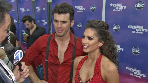 Melissa Rycroft, Tony Dovolani talk 'DWTS' week 7