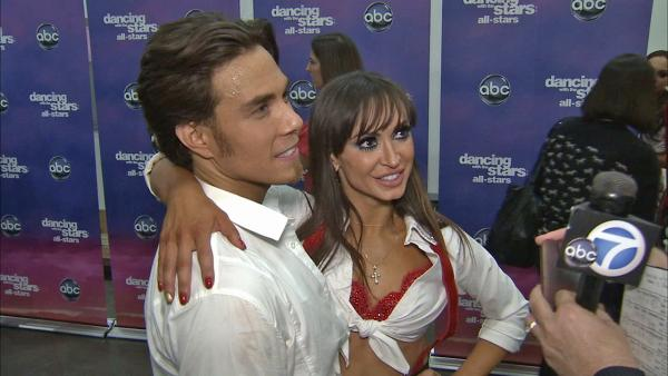 Karina Smirnoff talks Apolo Anton Ohno, 'DWTS' week 7