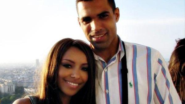 Kat Graham and Cottrell Guidry appear in a photo posted on Guidry's official Facebook page on September 26, 2012.