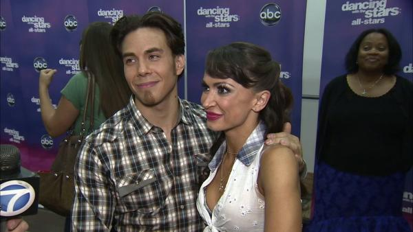 Karina Smirnoff talks Apolo Anton Ohno, 'DWTS' week 6