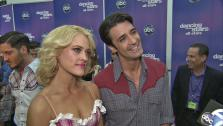 Gilles Marini and Peta Murgatroyd talk to OTRC.com after the October 29, 2012 episode of Dancing With The Stars. - Provided courtesy of ABC