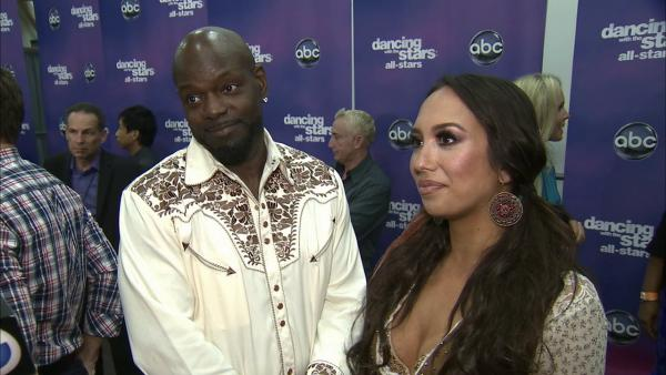 OTRC: Emmitt Smith, Cheryl Burke talk 'DWTS' week 6