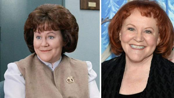 Edie McClurg appears in a scene from the 1986 movie 'Ferris Bueller's Day Off.' / Edie McClurg attends the premiere of Disney's 'Frozen' at the El Capitan Theatre in Los Angeles on Nov. 19, 2013.