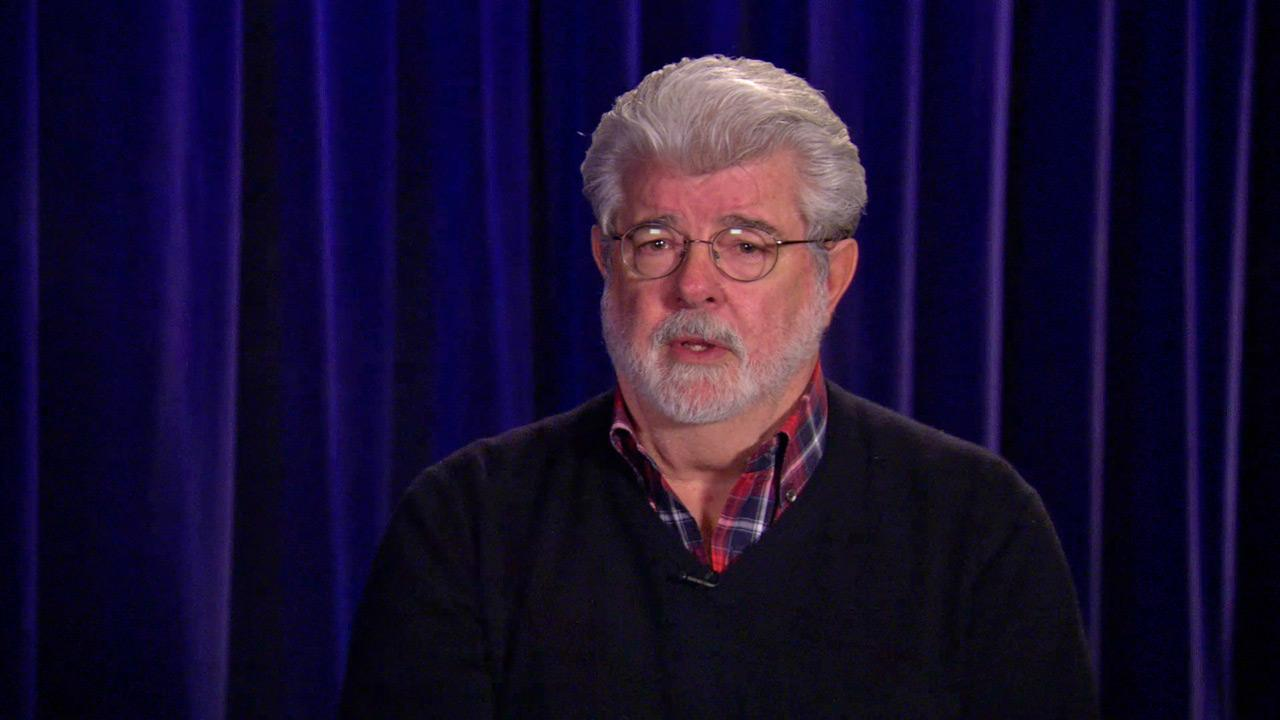 Star Wars creator George Lucas and Disney CEO Bob Iger talk about Disneys acquisition of Lucasfilm.