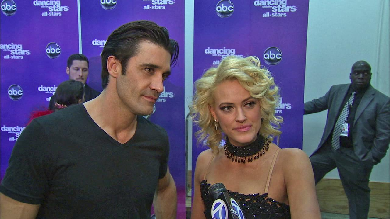 Gilles Marini and Peta Murgatroyd talk to OTRC.com after the Oct. 30, 2012 episode of Dancing With The Stars.