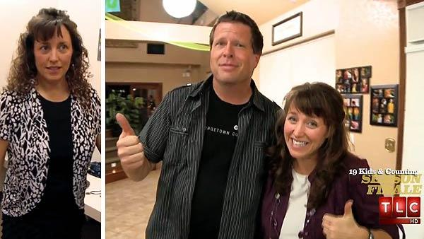 Michelle Duggar and husband Jim Bob Duggar appear on an Oct. 30, 2012 episode of the TLC reality show 19 Kids and Counting. - Provided courtesy of TLC / Discovery Communications