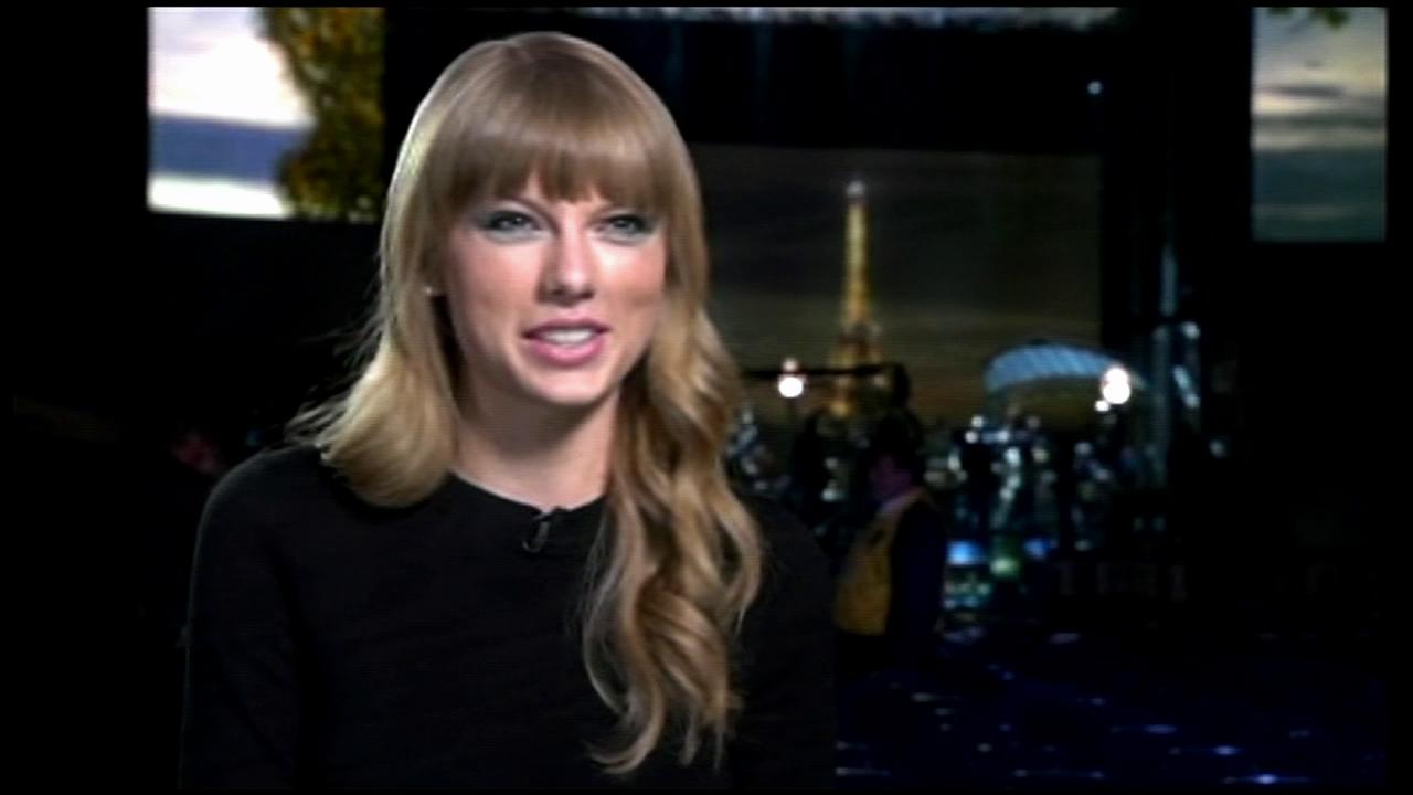 Taylor Swift talks about performing at the 2012 CMA Awards in a video provided by ABC.