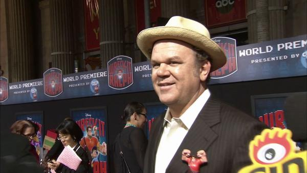 John C. Reilly talks 'Wreck-It Ralph'