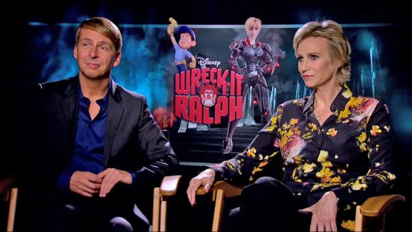 Jack McBrayer and Jane Lynch talk 'Ralph'