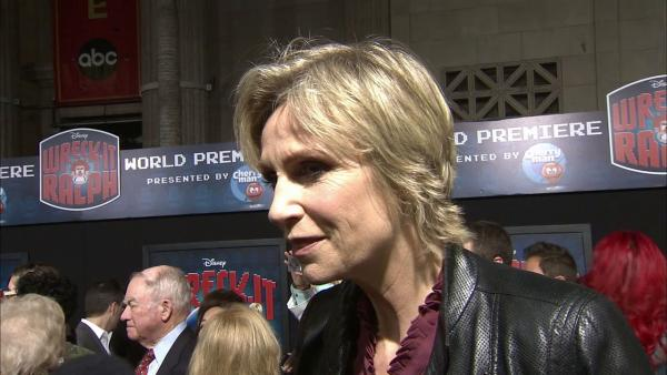 Jane Lynch talks 'Wreck-It Ralph'