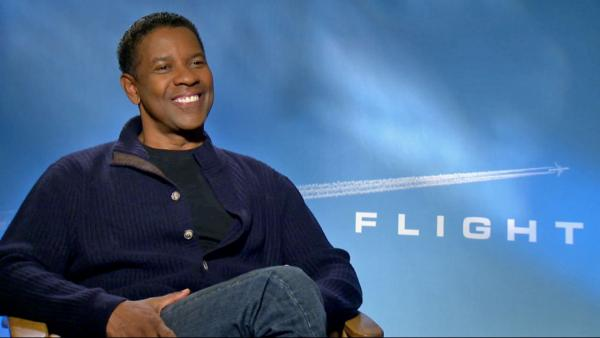 Denzel Washington talks 'Flight'