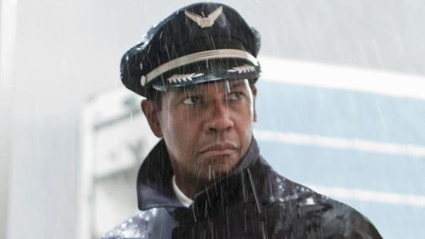 Denzel Washington appears in a scene from the 2012 film 'Flight.'