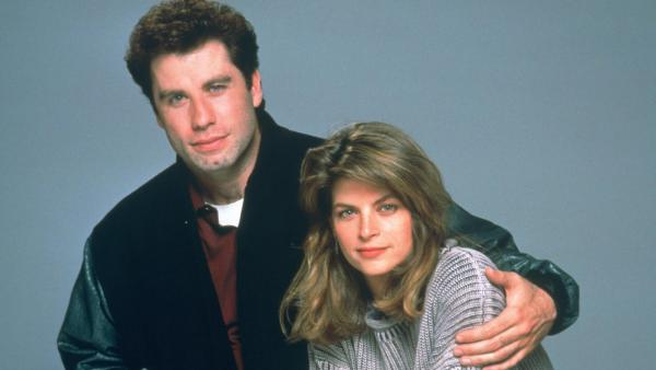 Kirstie Alley and John Travolta appear in a promotional photo for Look Whos Talking. - Provided courtesy of TriStar Pictures