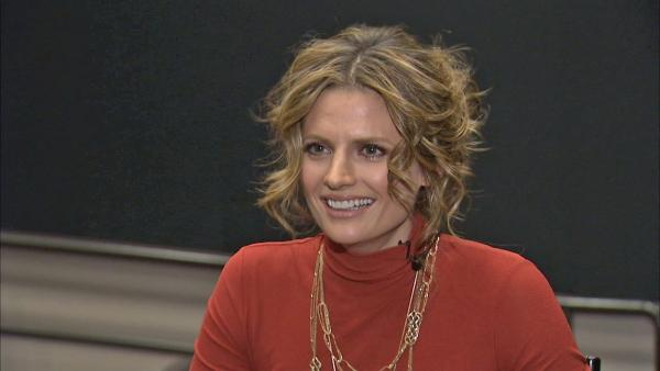 Stana Katic on 'Castle' documentary episode