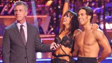 Apolo Anton Ohno and Karina Smirnoff appear in a still from Dancing With The Stars: All-Stars on November 5, 2012. - Provided courtesy of ABC