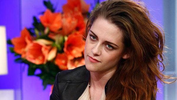 Kristen Stewart appears in a still from the Today show on November 7, 2012. - Provided courtesy of NBC / Peter Kramer